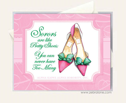 AKA Sorors and Pretty Shoes Cards