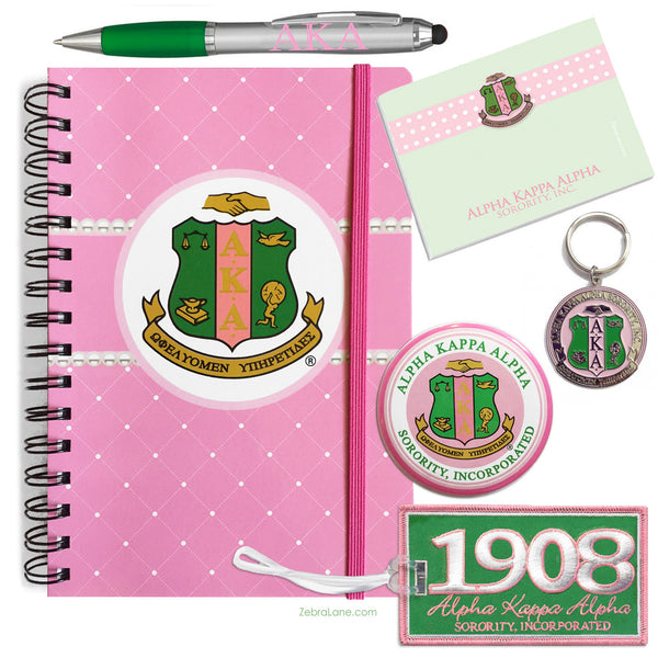 AKA Shield Journal Gift Set