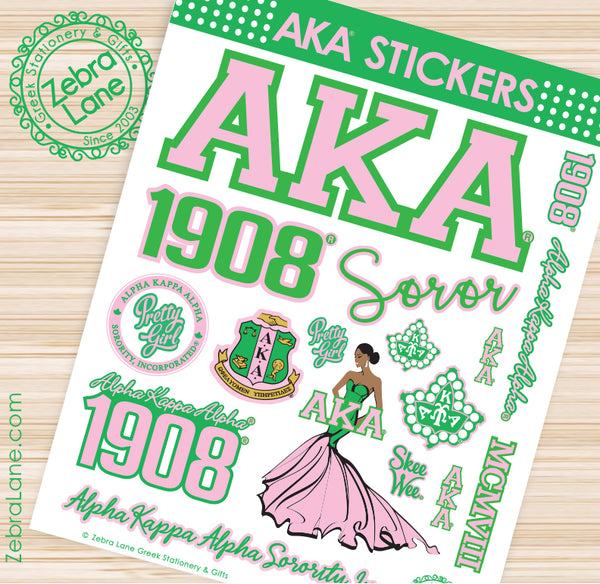 AKA Sticker Sheet #3