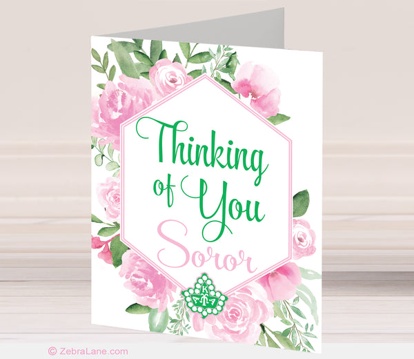 AKA Thinking of You Cards - Ivy
