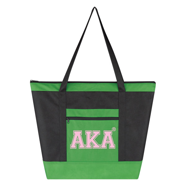 AKA Large Lightweight Recycled Tote