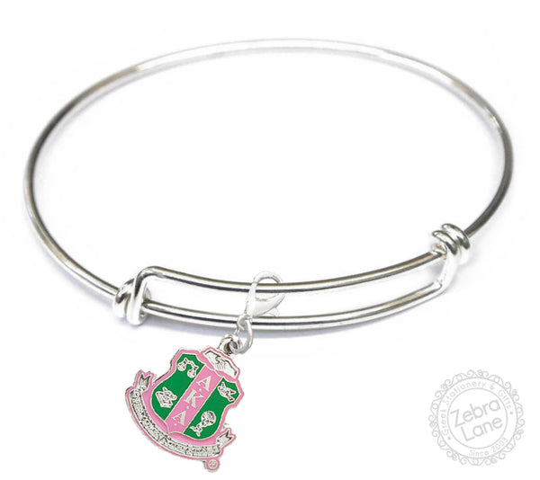 AKA Shield Wire Charm Bracelet