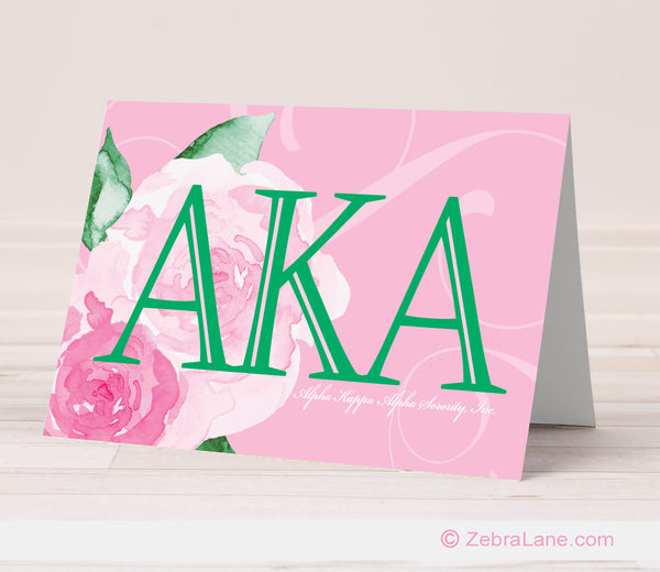 AKA Rose Letters Cards