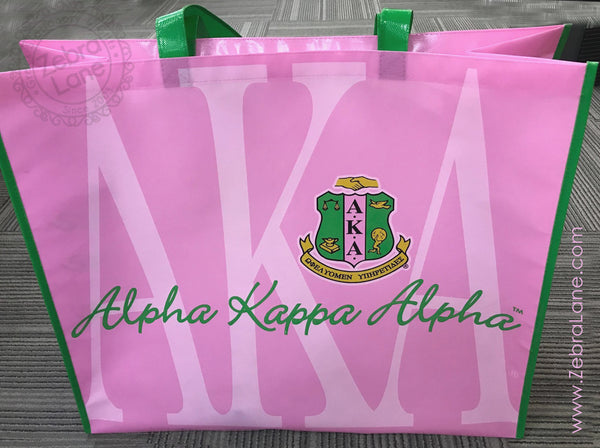 AKA Shopper Bag – Greek Letters