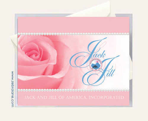 Jack and Jill of America Rose Cards