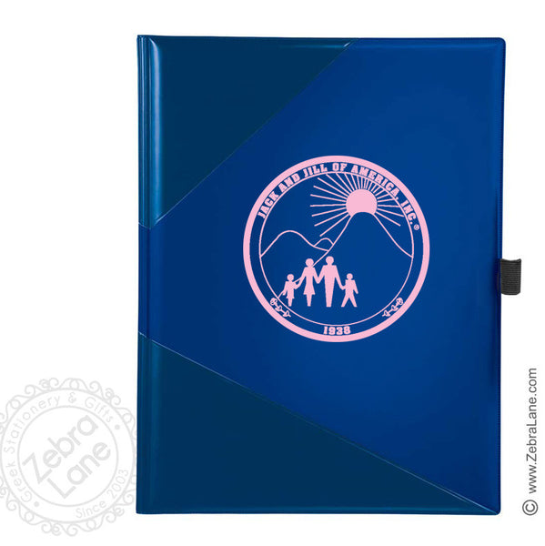 Jack and Jill Blue Colorblock Portfolio