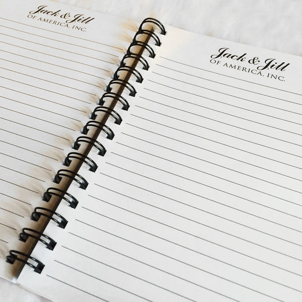 Jack and Jill Journal - Blue Logo