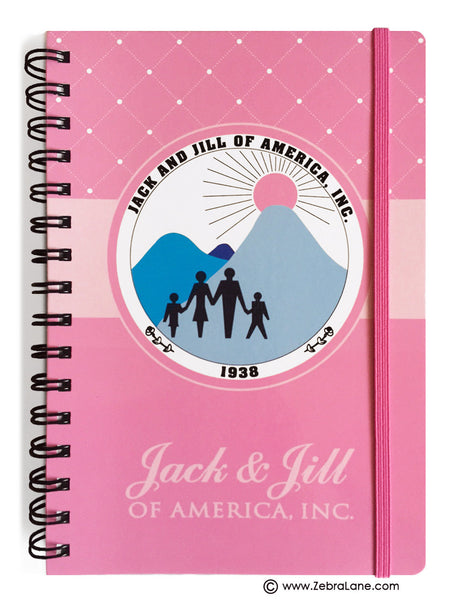 Jack and Jill Journal - Pink Logo