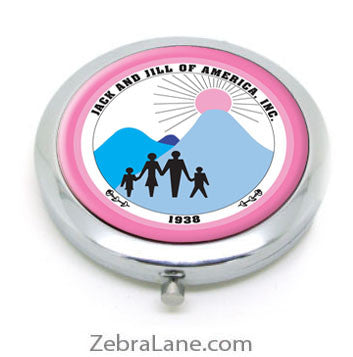 Jack and Jill Compact Mirror