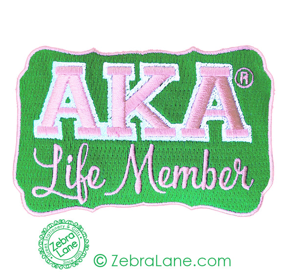 AKA Life Member Patch