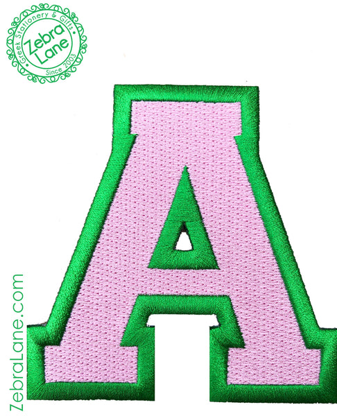 AKA A Letter Patch - 4 inch