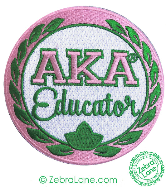AKA Educator Patch