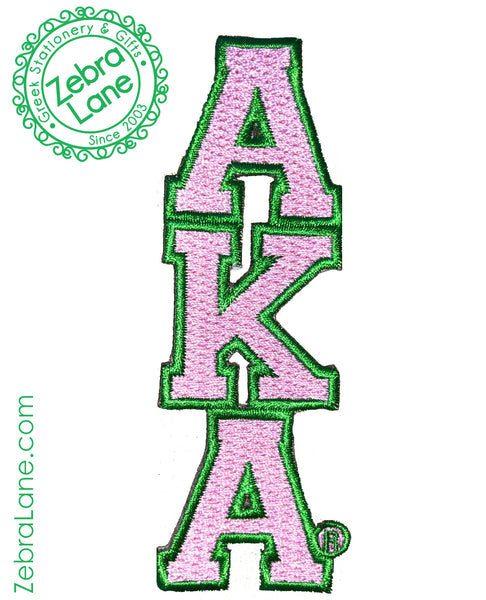 AKA Vertical Letters Patch