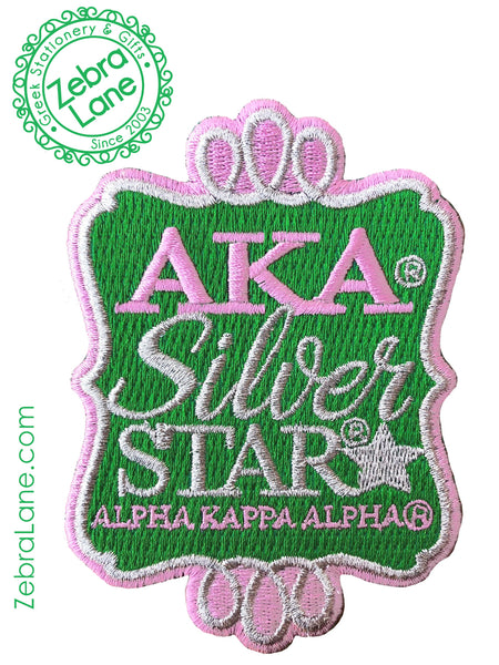 AKA Silver Star Border Patch