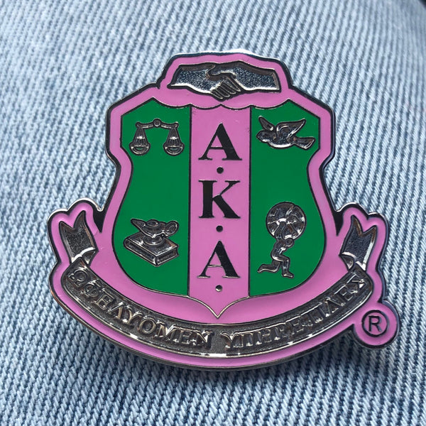 AKA Shield Lapel Pin