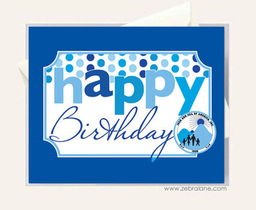 Jack and Jill Blue Birthday Cards