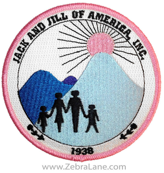 Jack and Jill of America Round Patch