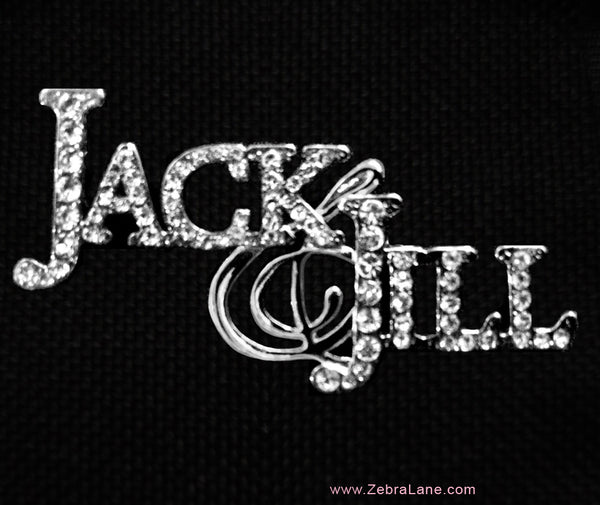 Jack and Jill of America Rhinestone Lapel Pin
