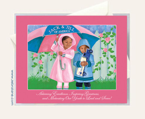 Jack and Jill of America Children Cards