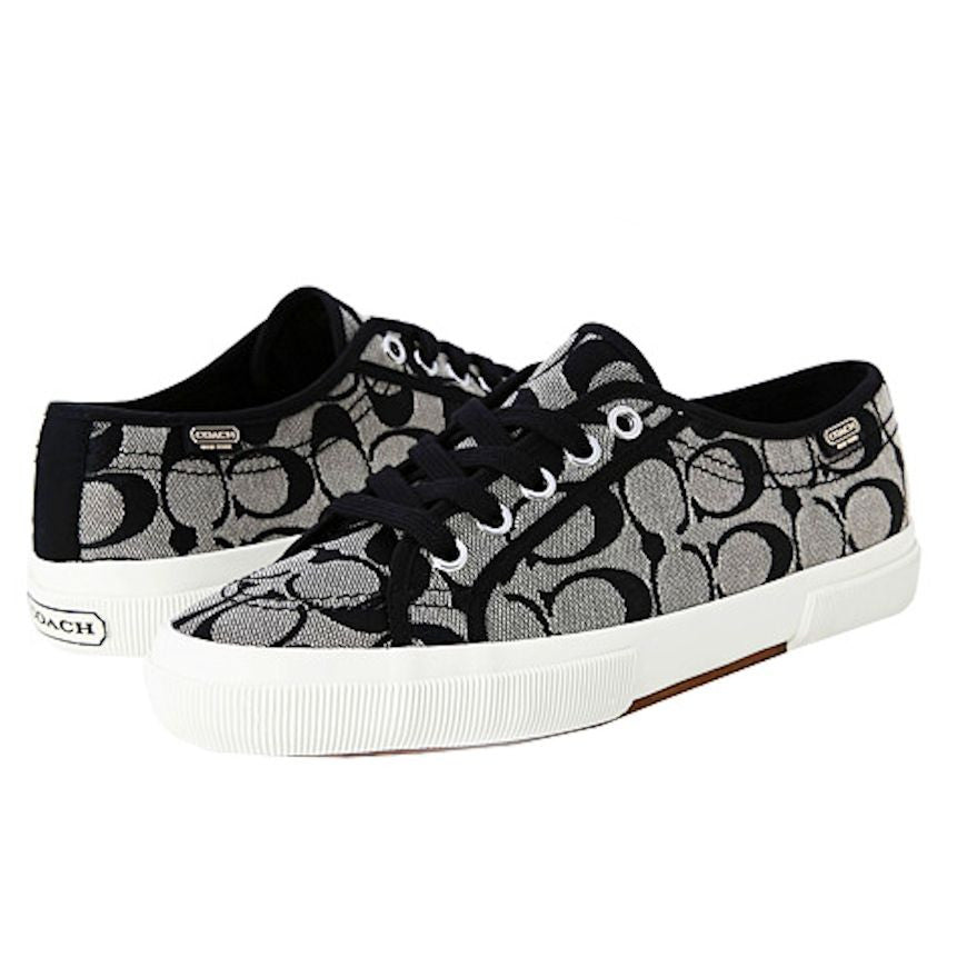 6a99e198a1d2 COACH KALYN Womens Signature C Jacquard Quilted Heart Canvas Fashion Sneaker
