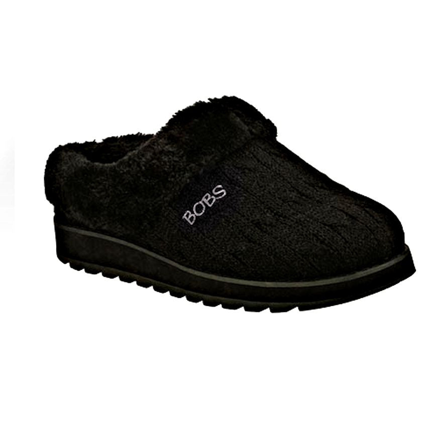 how to get newest premium selection Skechers BOBS Keepsakes Delight Fall Slippers Sweater Faux ...