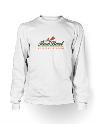Rose Bowl - Men's Long Sleeve Crew Neck Tee