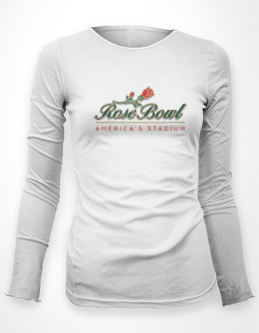 Rose Bowl - Women's Long Sleeve Crew Neck Tee