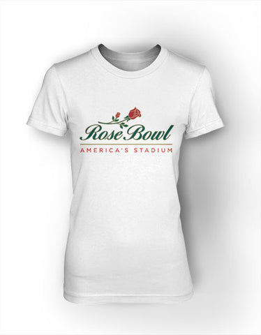 Rose Bowl - Women's Short Sleeve Crew Neck Tee