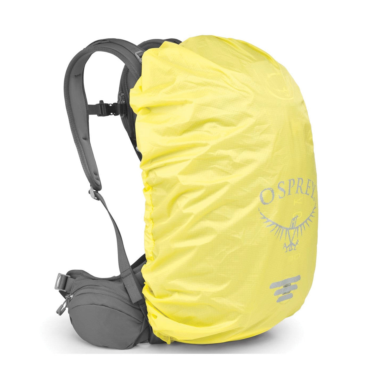3aaaa6a6850 Osprey Hi-vis Raincover - wet weather pack protector - Ground Effect