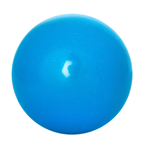 Light Blue Junior Rhythmic Gymnastic Glitter Ball