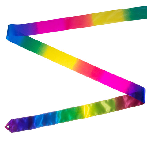 Rainbow Rhythmic Gymnastics Ribbon