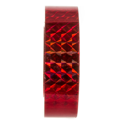 Red Holographic Tape