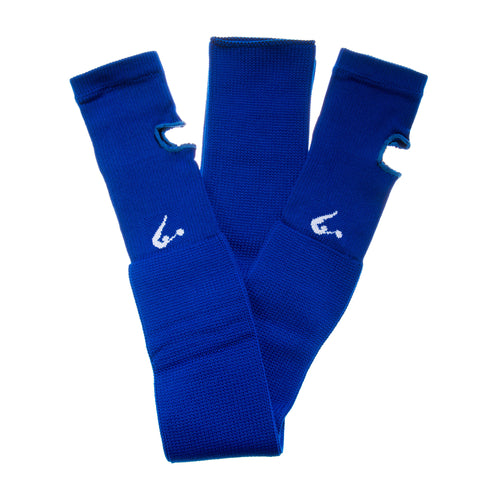 Royal Blue Knitted Legwarmers
