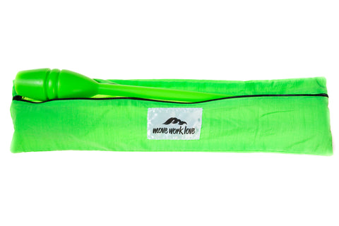 Neon Green Rhythmic Gymnastic Clubs Bag