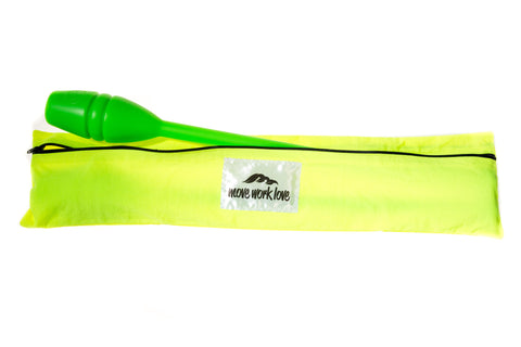 Neon Yellow Rhythmic Gymnastic Clubs Bag