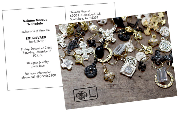 Brevard Jewelry Trunk Show Invite for December 2016 at the Scottsdale Neiman Marcus