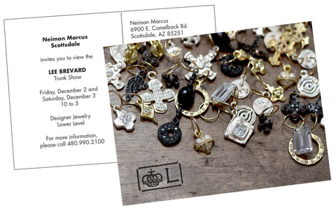 2016 Brevard Holiday Jewelry Trunk Show Invite at Scottsdale Neiwman Marcus