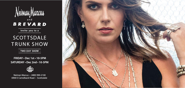LEE BREVARD - Neiman Marcus Scottsdale - December 2017 Jewlery Trunk Show Invite