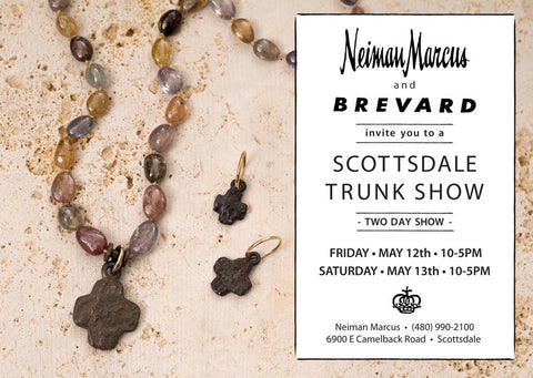 Brevard Jewelry Trunk Show May 2017 Invite Neiman Marcus Scottsdale