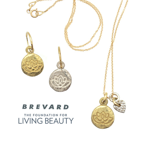 Living Beauty Lotus Flower Jewelry Collection by Brevard
