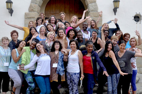 Living Beauty Yoga Retreat 2016 Group Shot & Brevard Jewelry