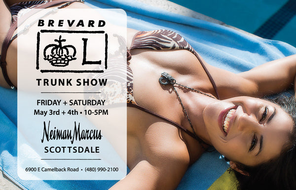 LEE BREVARD May 2019 Neiman Marcus Jewelry Trunk Show Invite