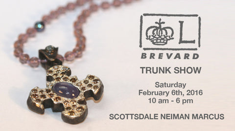 Brevard Jewelry Trunk Show Invite for February 6, 2016 at the Scottsdale Neiman Marcus