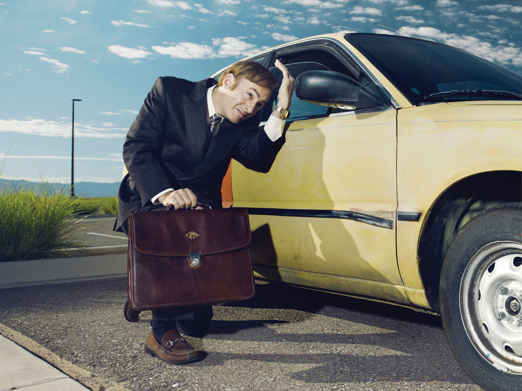 better call saul • saul goodman yellow car