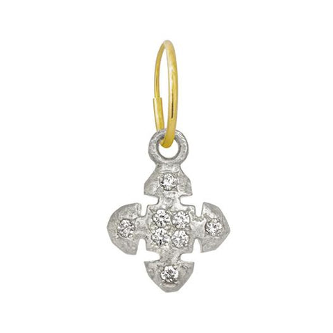 8 Stone Medium Cruz Earring-Brevard