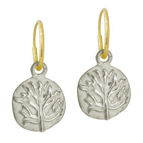 Acanthus Coin Earring-Brevard