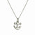 Anchor Charm Necklace-Brevard