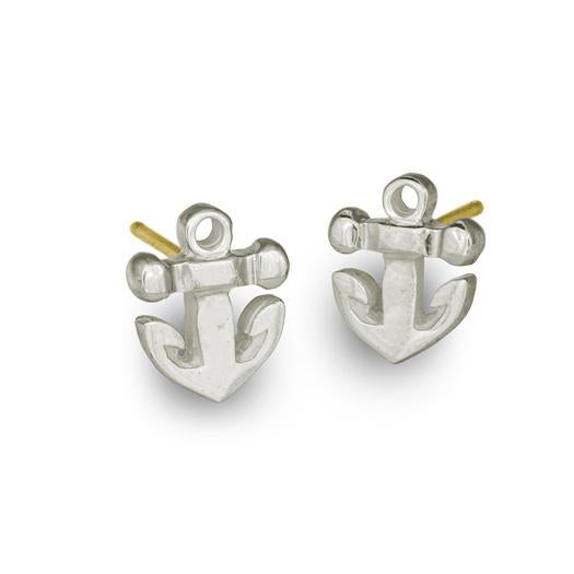 Anchor Stud Earring-Brevard