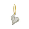 Apollo Heart • Endless Hoop Charm Earring-Brevard