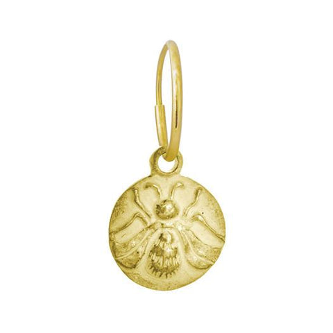 Gold Bee Earring-Brevard